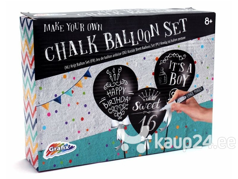 Loominguline komplekt Grafix Chalk Balloon