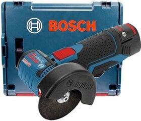 Akunurklihvija Bosch 12V 2x3,0Ah GWS 12V-76 L-BOXX (B06019F200B)
