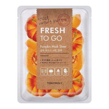 Pinguldav lehtmask TonyMoly Fresh To Go Pumpkin, 1 tk