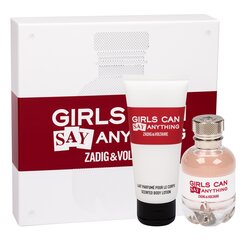 Komplekt Zadig & Voltaire Girls Can Say Anything naistele: EDP 50 ml + kehakreem 100 ml