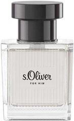 Tualettvesi s.Oliver For Him EDT meestele 30 ml hind ja info | Tualettvesi s.Oliver For Him EDT meestele 30 ml | kaup24.ee