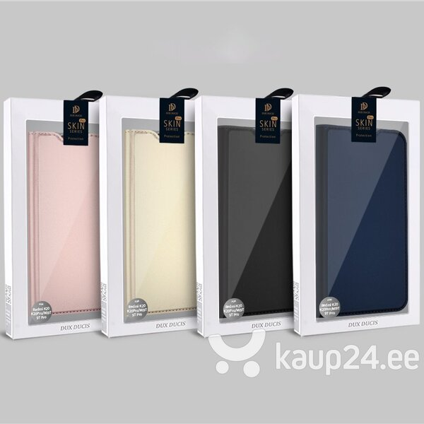 Telefonikaaned DUX DUCIS Skin Pro Xiaomi Mi 9T Pro / Mi 9T, Must