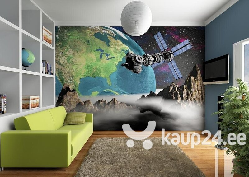 Fototapeet View of the Earth from space 360cm x 254cm
