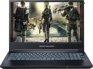 Dream Machines G1660Ti-15PL40 8 GB RAM/ 512 GB M.2 PCIe/ 480 GB SSD/ Windows 10 Pro hind ja info | Sülearvutid | kaup24.ee