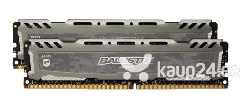 Ballistix Sport LT Gray 32GB Kit (2 x 16GB) DDR4-3000 UDIMM