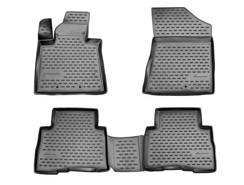 Kummimatid 3D KIA Sorento 2012-2015, 4 pcs. /L38049G /gray
