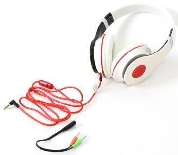 FS FH4005W HI-FI Stereo Наушники с Extra Basss System / Mикрофоном / 3.5mm  / 1.2m / белый