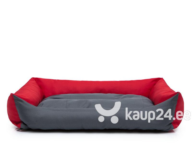 Hobbydog pesa Eco XXL, 105x75 cm, punast/halli värvi hind