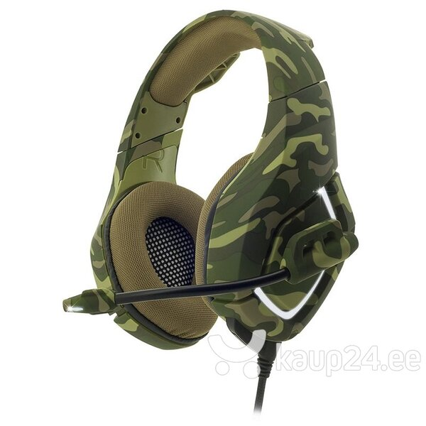 Peakomplekt Spirit Of Gamer Elite Series Over Ear Headset ELITE-H50, Roheline