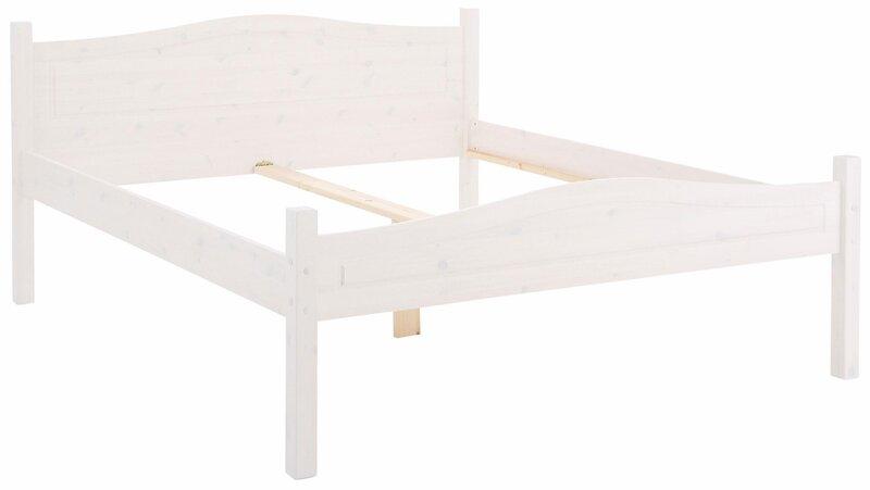 Кровать Notio Living Barney, 180x200 см, белая