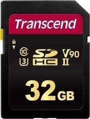 Transcend TS32GSDC700S MicroSDHC 32GB hind ja info | Transcend TS32GSDC700S MicroSDHC 32GB | kaup24.ee