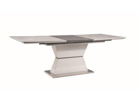 Стол раскладной Signal Meble Muskat, белый/серый