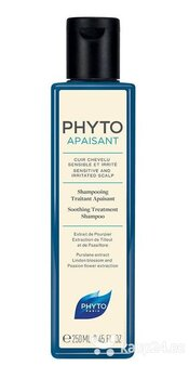 Šampoon tundlikule peanahale Phyto Phytoapaisant Soothing Treatment 250 ml