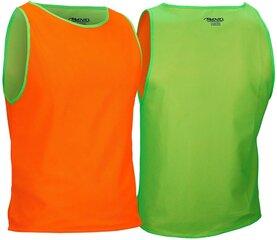 T-särk jalgpallitreeninguteks Avento 75OG, roheline/oranž hind ja info | Jalgpalli varustus ja riided | kaup24.ee
