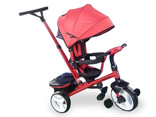Kolmerattaline Kikkaboo Neon 3in1, Red
