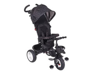 Kolmerattaline Kikkaboo Dotty 3in1, Black