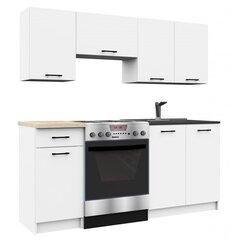 Köögimööbli komplekt Oliwia, valge hind ja info | Köögimööbel | kaup24.ee