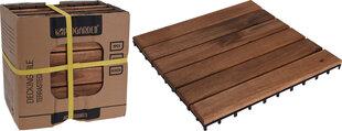 Progarden пол для террасы, 30x30 см цена и информация | Террасная доска | kaup24.ee