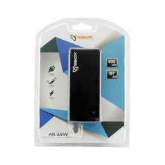Sülearvuti adapter Sbox AR-65W, 100-240V, 65W, 19V, 1.5/3.42A hind ja info | Sülearvuti adapter Sbox AR-65W, 100-240V, 65W, 19V, 1.5/3.42A | kaup24.ee