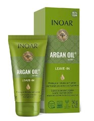 Pähejäetav palsam argaaniaõliga INOAR Argan Oil Leave-in 50 ml