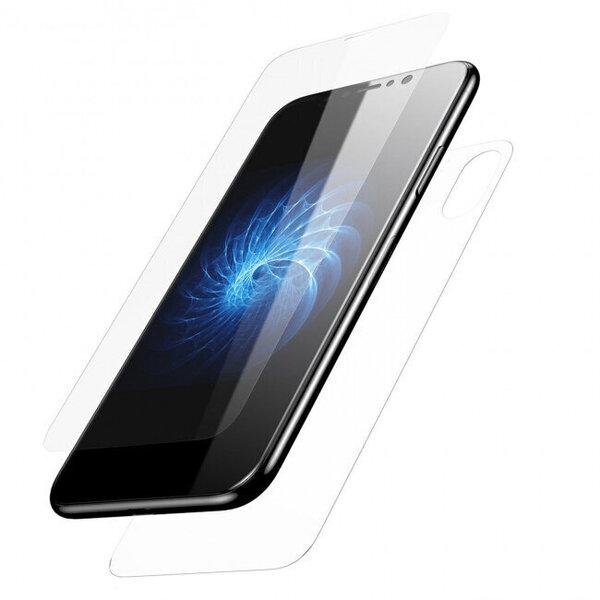 Karastatud kaitseklaas Devia Entire View telefonile iPhone XR, Läbipaistev hind