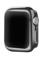 Devia Gold-Plated Series Case sobib Apple Watch 4 (44mm), Must hind ja info | Nutikellade ja nutivõrude tarvikud | kaup24.ee