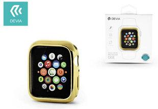 Devia Gold-Plated Series Case sobib Apple Watch(40mm), Kuldne hind ja info | Nutikellade ja nutivõrude tarvikud | kaup24.ee