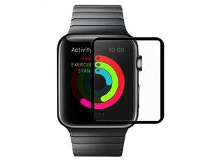Karastatud klaas Devia Full Screen sobib Apple Watch 3/2 (38mm), Läbipaistev hind ja info | Nutikellade ja nutivõrude tarvikud | kaup24.ee