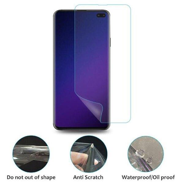 Ekraanikaitse Tellur TPU Full Glue telefonile Samsung Galaxy S10e, Läbipaistev tagasiside