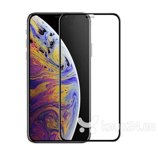 Kaitseklaas raamiga Tellur 3D telefonile Apple iPhone XS, Must