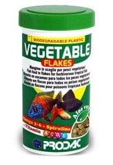 Helbed taimetoidulistele kaladele Prodac Vegetable Flakes 100ml 20g hind ja info | Toit kaladele | kaup24.ee
