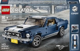 10265 LEGO® Creator Expert Ford Mustang GT цена и информация | 10265 LEGO® Creator Expert Ford Mustang GT | kaup24.ee