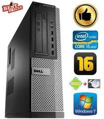 DELL 790 DT i5-2500 16GB 120SSD+2TB DVDRW WIN7Pro hind ja info | Lauaarvutid | kaup24.ee