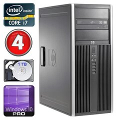 HP 8100 Elite MT i7-860 4GB 1TB NVS450 DVD WIN10Pro hind ja info | HP 8100 Elite MT i7-860 4GB 1TB NVS450 DVD WIN10Pro | kaup24.ee
