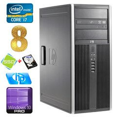 HP 8100 Elite MT i7-860 8GB 120SSD+500GB NVS450 DVD WIN10Pro hind ja info | HP 8100 Elite MT i7-860 8GB 120SSD+500GB NVS450 DVD WIN10Pro | kaup24.ee