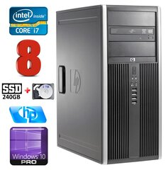 HP 8100 Elite MT i7-860 8GB 240SSD+2TB NVS450 DVD WIN10Pro hind ja info | HP 8100 Elite MT i7-860 8GB 240SSD+2TB NVS450 DVD WIN10Pro | kaup24.ee