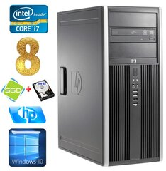 HP 8100 Elite MT i7-860 8GB 120SSD+500GB NVS450 DVD WIN10 hind ja info | HP 8100 Elite MT i7-860 8GB 120SSD+500GB NVS450 DVD WIN10 | kaup24.ee