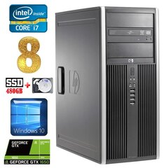 HP 8100 Elite MT i7-860 8GB 480SSD+1TB GTX1650 4GB DVD WIN10 hind ja info | HP 8100 Elite MT i7-860 8GB 480SSD+1TB GTX1650 4GB DVD WIN10 | kaup24.ee