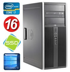 HP 8100 Elite MT i7-860 16GB 120SSD NVS450 DVD WIN10 hind ja info | HP 8100 Elite MT i7-860 16GB 120SSD NVS450 DVD WIN10 | kaup24.ee