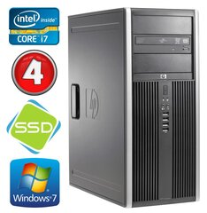 HP 8100 Elite MT i7-860 4GB 120SSD NVS450 DVD WIN7Pro hind ja info | HP 8100 Elite MT i7-860 4GB 120SSD NVS450 DVD WIN7Pro | kaup24.ee