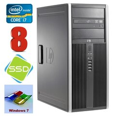 HP 8100 Elite MT i7-860 8GB 120SSD NVS450 DVD WIN7Pro hind ja info | HP 8100 Elite MT i7-860 8GB 120SSD NVS450 DVD WIN7Pro | kaup24.ee
