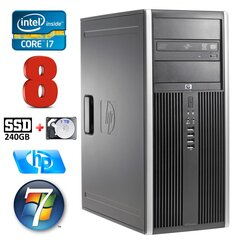 HP 8100 Elite MT i7-860 8GB 240SSD+1TB NVS450 DVD WIN7Pro hind ja info | HP 8100 Elite MT i7-860 8GB 240SSD+1TB NVS450 DVD WIN7Pro | kaup24.ee