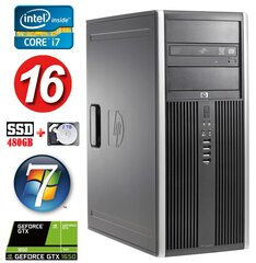 HP 8100 Elite MT i7-860 16GB 480SSD+2TB GTX1650 4GB DVD WIN7Pro hind ja info | HP 8100 Elite MT i7-860 16GB 480SSD+2TB GTX1650 4GB DVD WIN7Pro | kaup24.ee