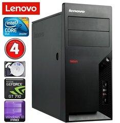 Lenovo M58e MT E7500 4GB 1TB GT710 2GB Win10Pro hind ja info | Lauaarvutid | kaup24.ee