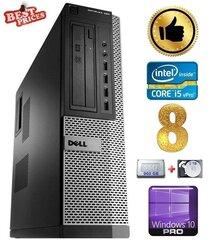 DELL 790 DT i5-2500 8GB 960SSD+2TB DVDRW WIN10Pro hind ja info | Lauaarvutid | kaup24.ee