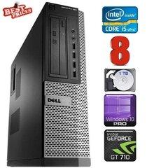 DELL 790 DT i5-2500 8GB 1TB GT710 2GB DVDRW WIN10Pro hind ja info | DELL 790 DT i5-2500 8GB 1TB GT710 2GB DVDRW WIN10Pro | kaup24.ee