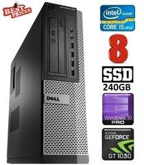 DELL 790 DT i5-2500 8GB 240SSD GT1030 2GB DVDRW WIN10Pro hind ja info | DELL 790 DT i5-2500 8GB 240SSD GT1030 2GB DVDRW WIN10Pro | kaup24.ee