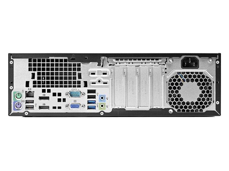 HP 600 G1 SFF i5-4570 4GB 240SSD GT1030 2GB WIN10Pro hind