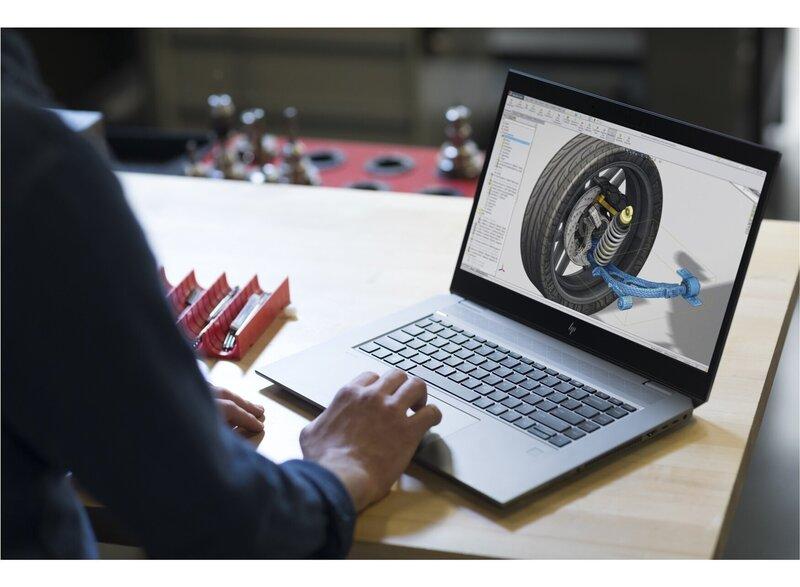 HP ZBook Studio G5; Intel i7-8750H Quadro P1000 16GB DDR4 FHD IPS 512 SSD WIFI 5 + FP/Privacy 2xThunderbolt 3 Windows 10P