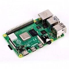 Raspberry Pi 4 model B WiFi DualBand Bluetooth 4GB RAM 1,5GHz цена и информация | электроника с открытым кодом | kaup24.ee